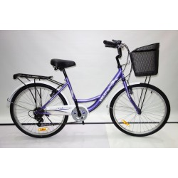 "SOLAR BICYCLE 760 20"" 淑女車-鐵架-SHIMANO 6波"