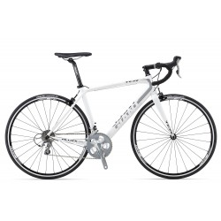 GIANT 2013 TCR 2 CD20 跑車-50CM  ; 白黑色